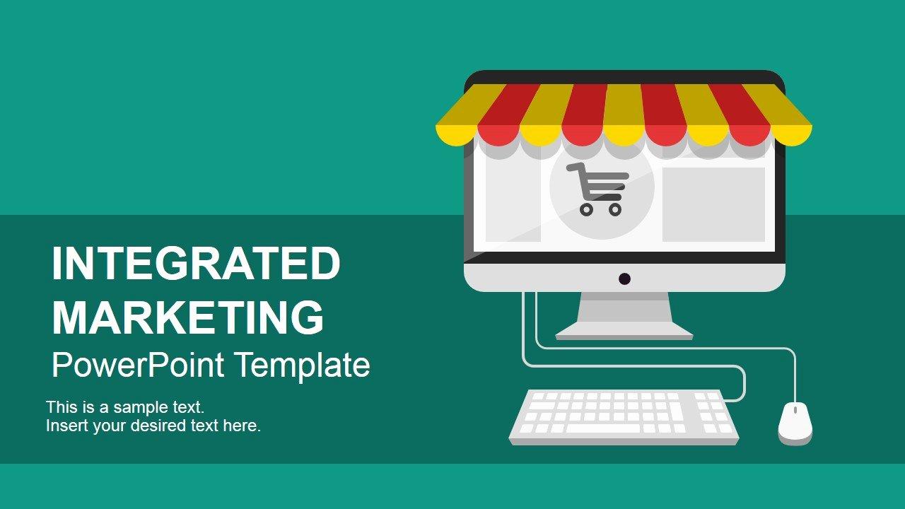 Integrated Marketing Plan Template Elegant Integrated Marketing Munications Powerpoint Template