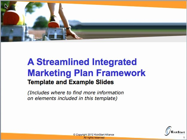 Integrated Marketing Plan Template Fresh Go to Market Plan