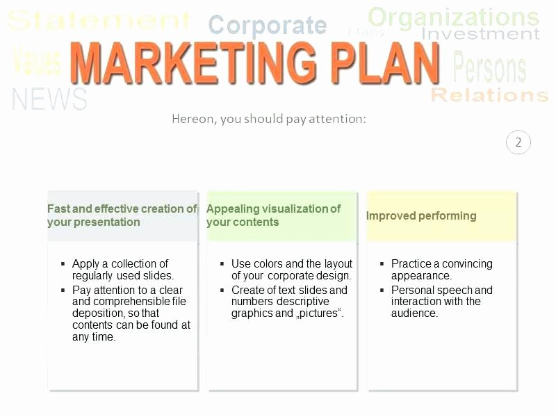 Integrated Marketing Plan Template Luxury Marketing Plan Powerpoint Template – Sabotageincfo