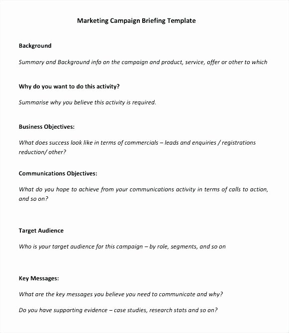Integrated Marketing Plan Template New Integrated Marketing Munications Plan Template New