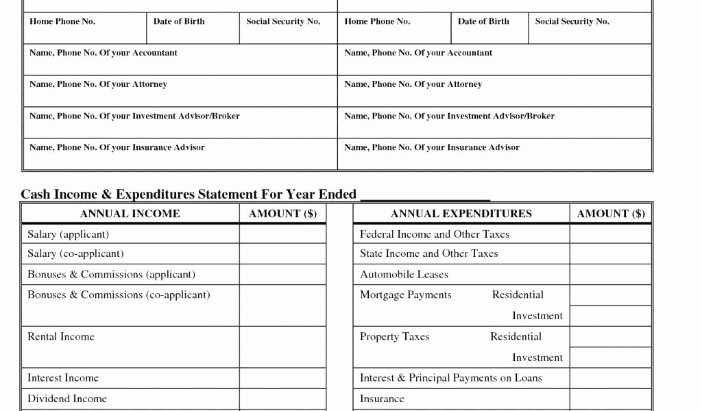 Interim Financial Statement Template Inspirational Financial Statements Examples In E Statements format