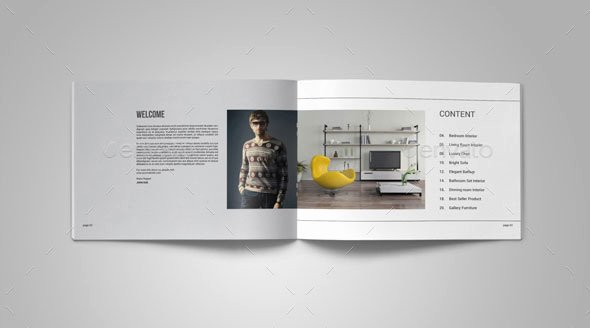 portfolio brochure templates interior design portfolio templates