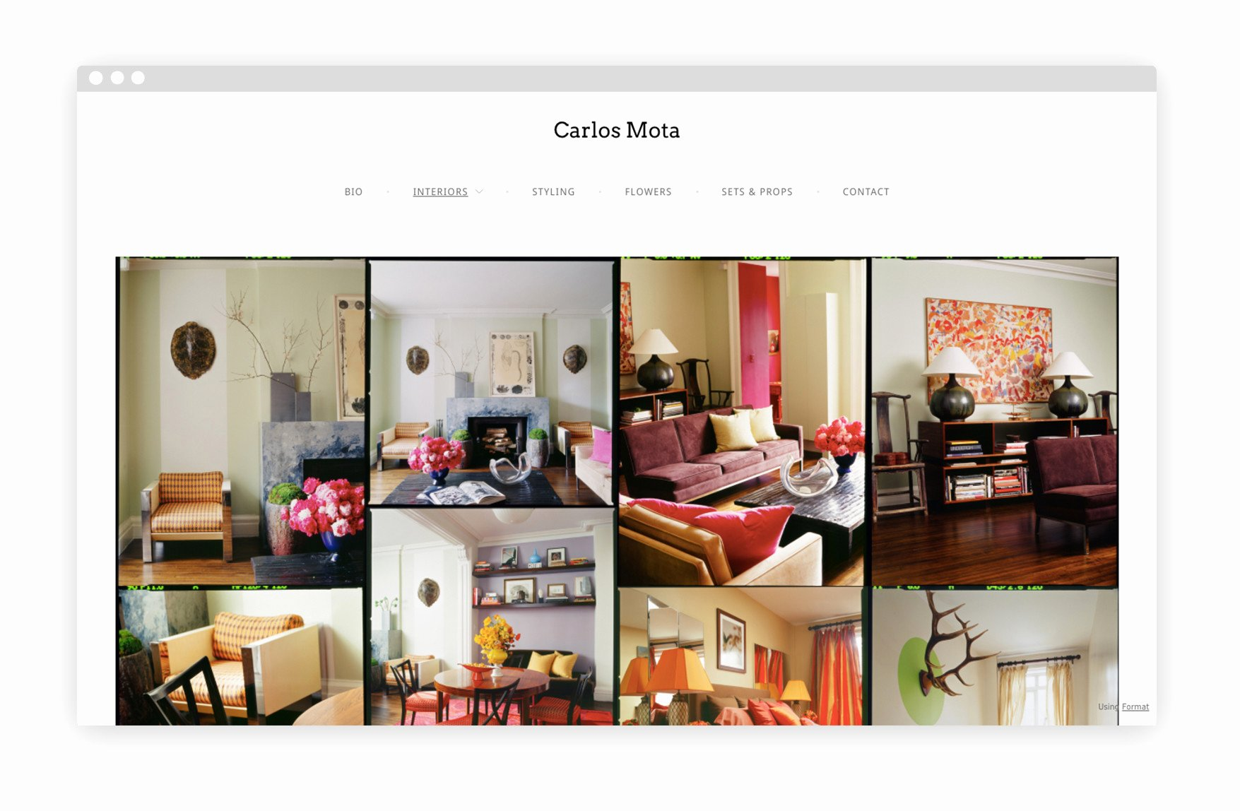 Interior Design Portfolio Template Best Of 12 Interior Design Portfolio Website Examples We Love