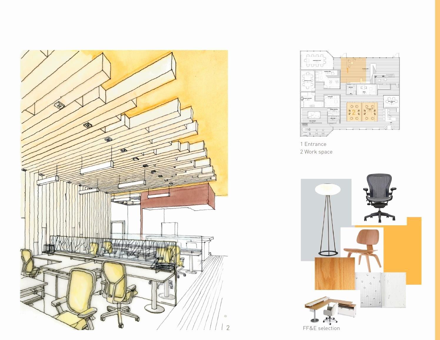 Interior Design Portfolio Template Elegant Pinterest