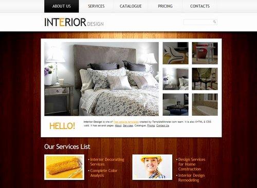 Interior Design Portfolio Template Inspirational 40 Free Portfolio Templates Design Css HTML