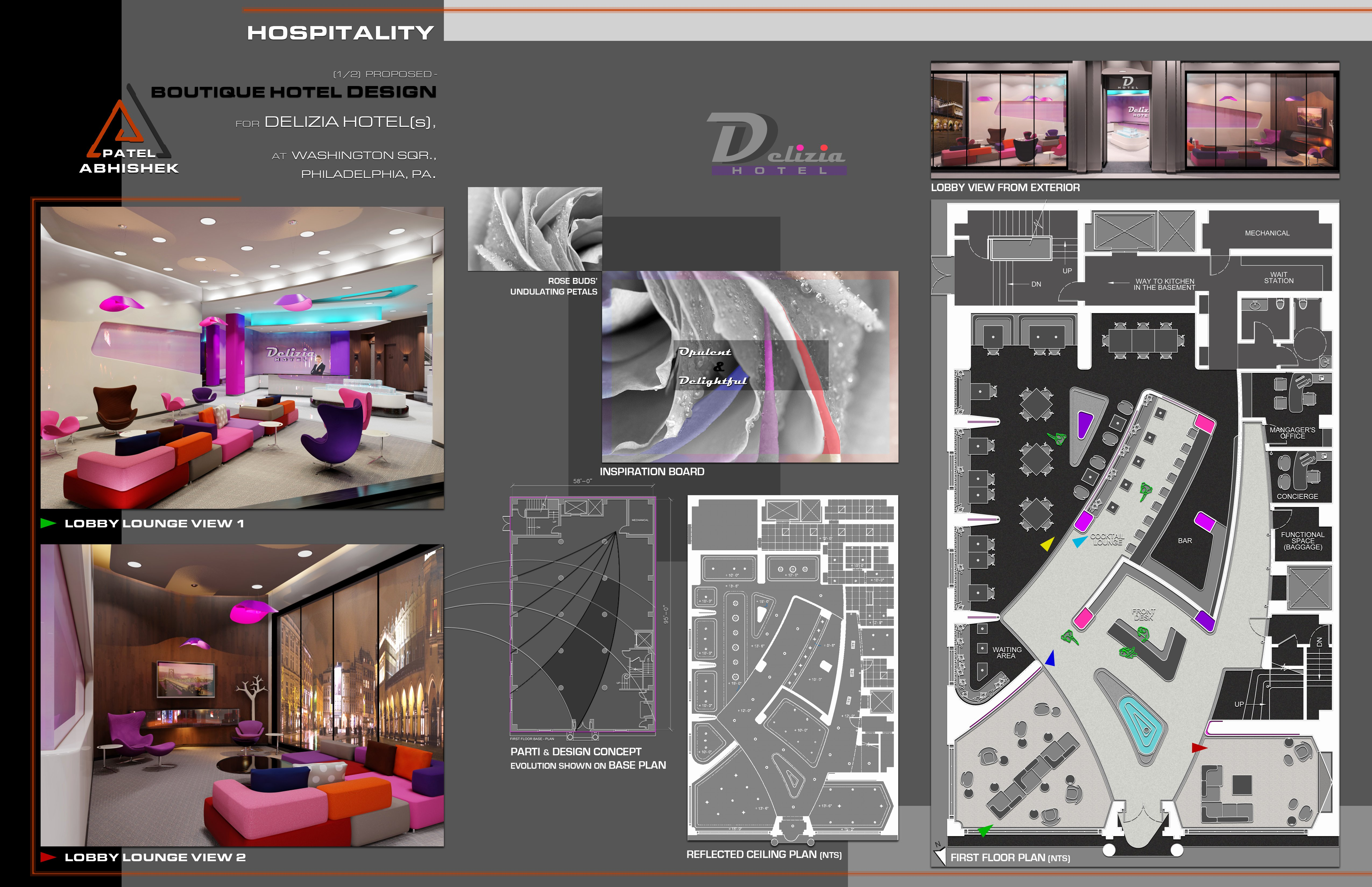 Interior Design Portfolio Template Lovely Interior Architecture & Design Portfolio Sample by
