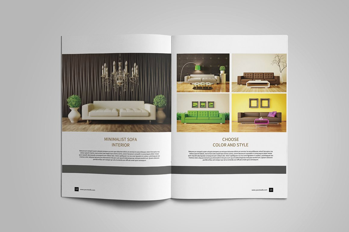 Interior Design Portfolio Template Luxury 10 Interior Design Portfolio Examples Editable Psd Ai