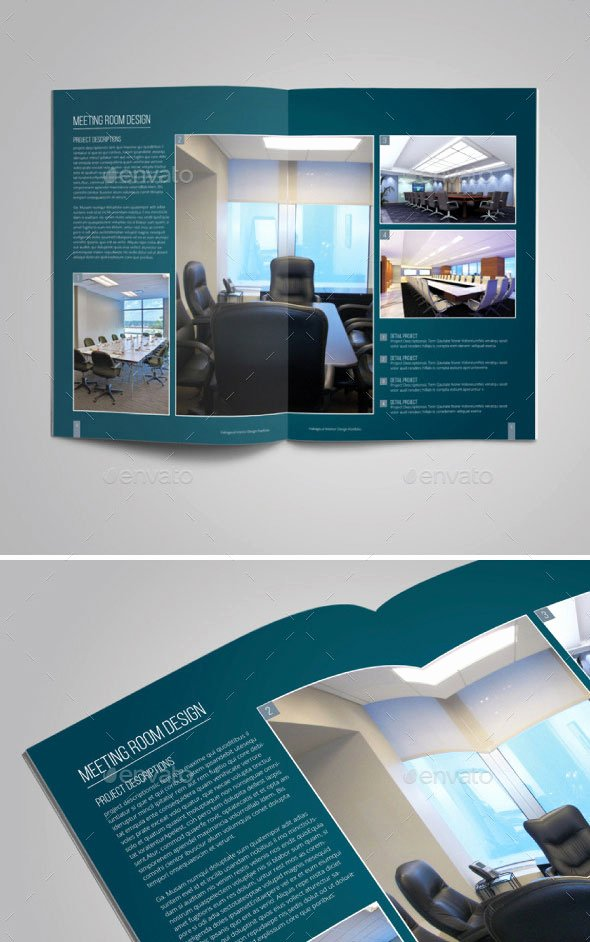 Interior Design Portfolio Template Unique 20 Amazing Interior Design Brochure Templates