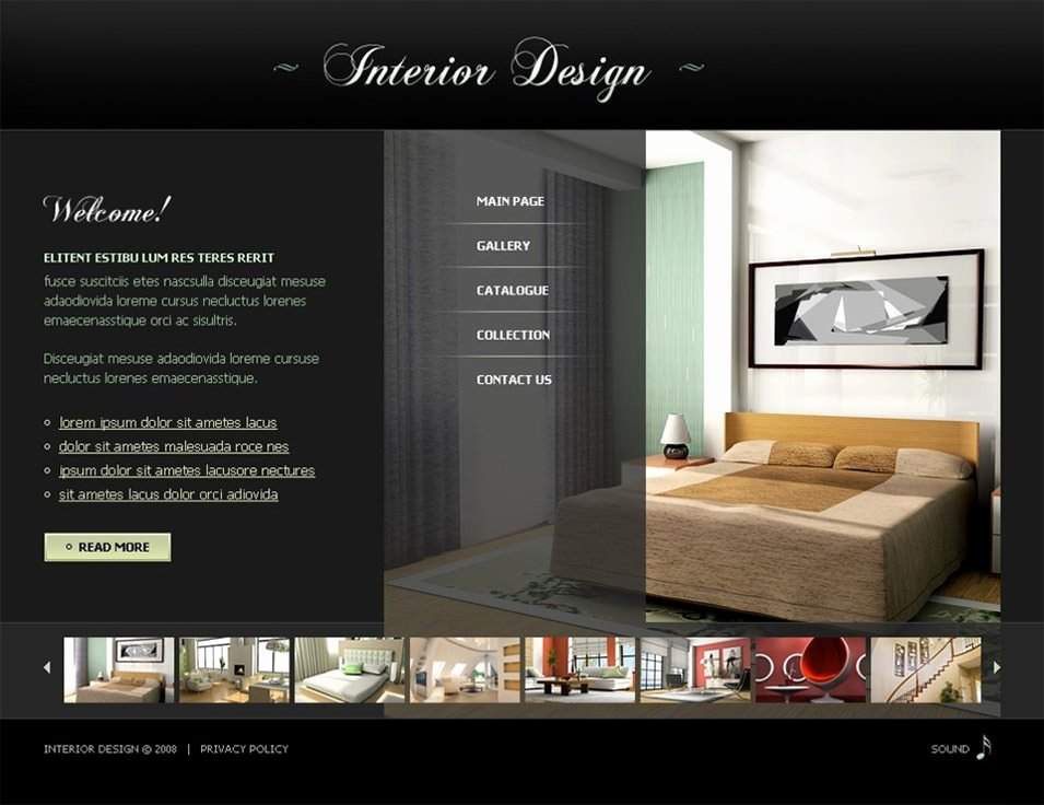 Interior Design Portfolio Template Unique 6 Best Swish Interior Website themes & Templates