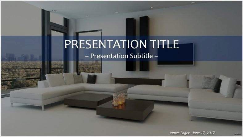 Interior Design Template Free Beautiful Free Interior Design Powerpoint