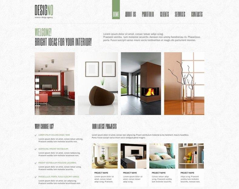 Interior Design Template Free Elegant 11 Amazing Interior Design Joomla Templates