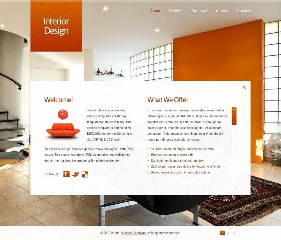 Interior Design Template Free Fresh Free Full Javascript Animated Template Interior Design