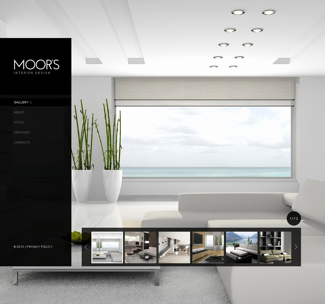 Interior Design Template Free Inspirational Interior Design Website Template