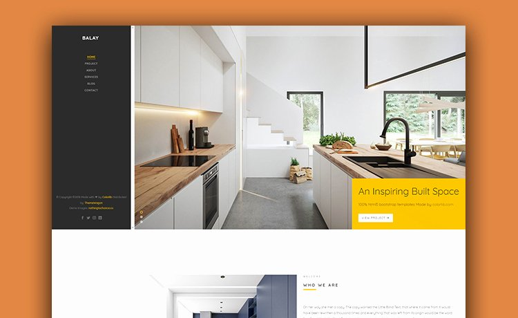 Interior Design Template Free Inspirational Make Your Website Great with This Free Interior Design