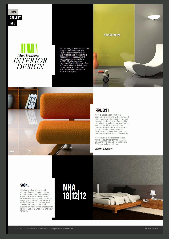 Interior Design Template Free Lovely Interior Design Website