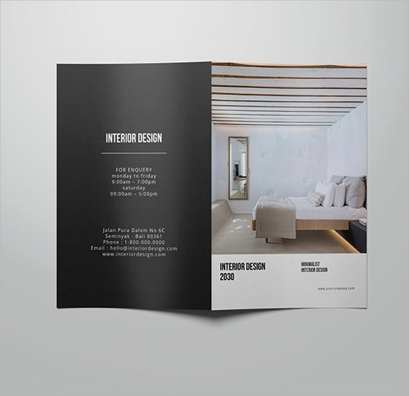 Interior Design Template Free Luxury 21 Interior Design Brochures