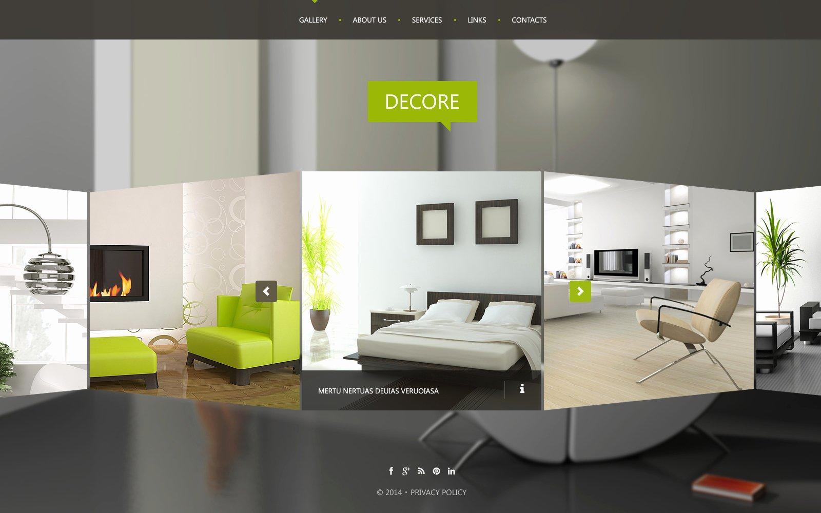 Interior Design Template Free Luxury Interior Design Website Template