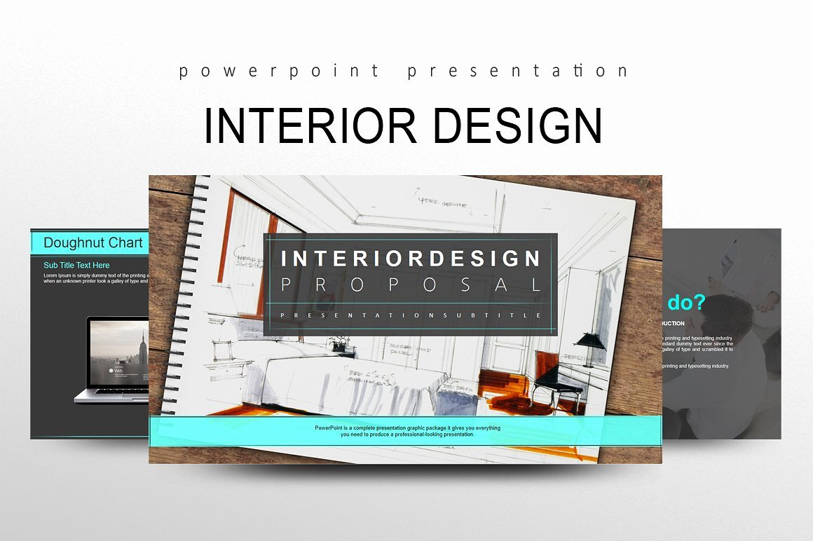Interior Design Template Free New Interior Design Powerpoint Templates Creative Market