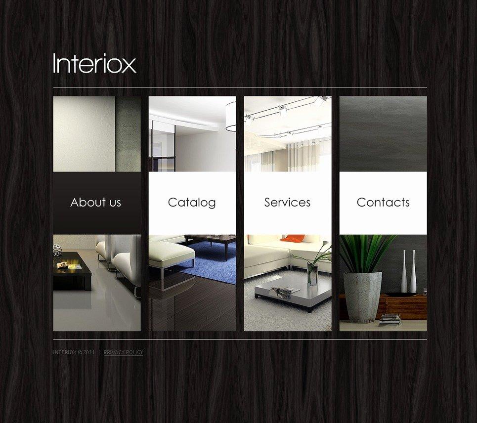 Interior Design Template Free Unique Interior Design Website Template