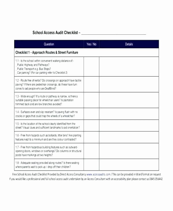 Internal Audit Checklist Template Excel Elegant Mill 5 S Audit Plan Checklist Template Excel Internal