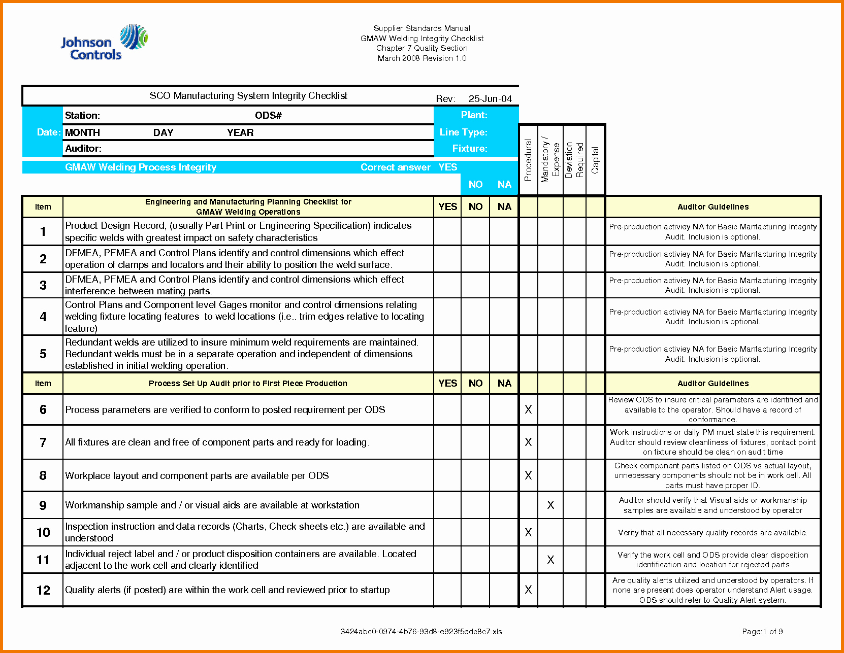 Internal Audit Checklist Template Excel Luxury Audit Checklist Template Excel to Pin On