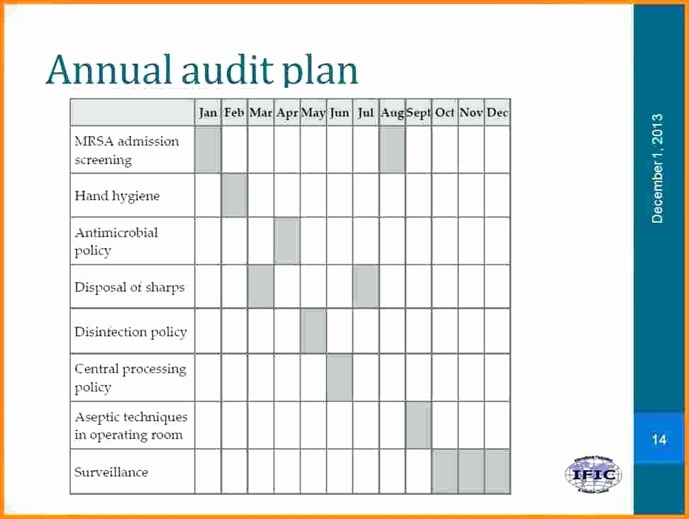Internal Audit Planning Template Luxury Audit Plan Template for Banks Graphical Representation