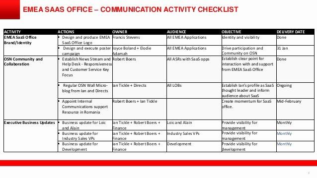 Internal Communication Strategy Template Lovely Internal Munication Strategy Template Pchscottcounty