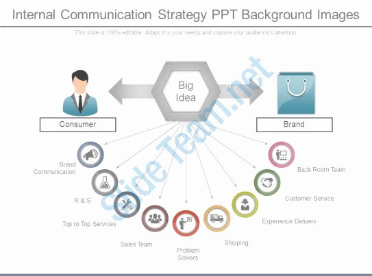 Internal Communication Strategy Template New Internal Munication Strategy Ppt Background