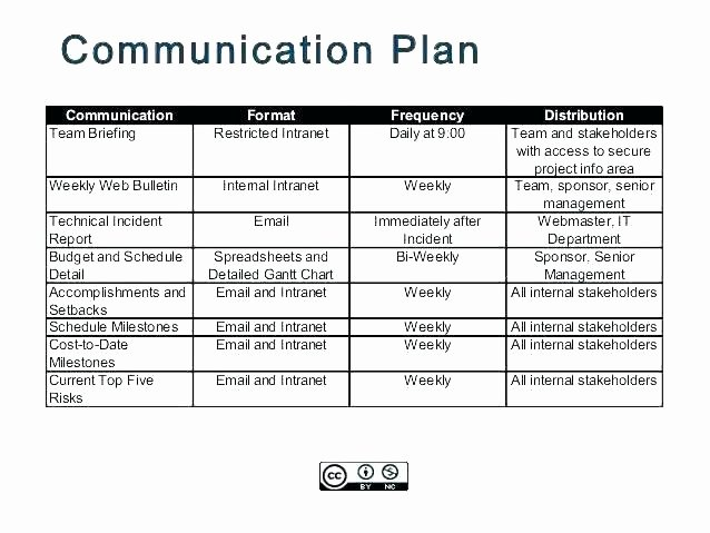 Internal Communications Plan Template Lovely 7 Steps to An Effective Internal Munications Plan
