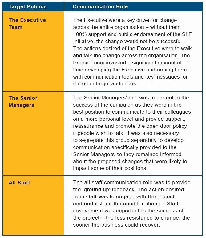Internal Communications Strategy Template Best Of Munication Plan Internal Munication Plan University