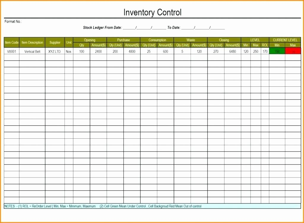 Inventory Control Excel Template Elegant Stock Inventory Control Template Management Xls Liquor