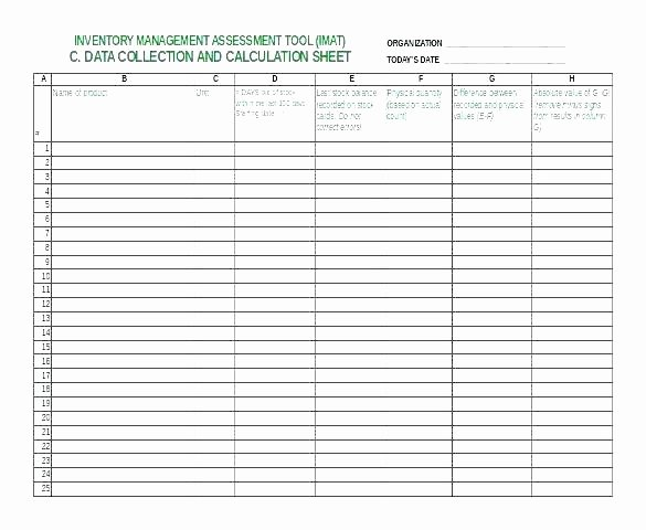 Inventory Cycle Count Excel Template Best Of Cycle Count Spreadsheet Template Item Count Example In