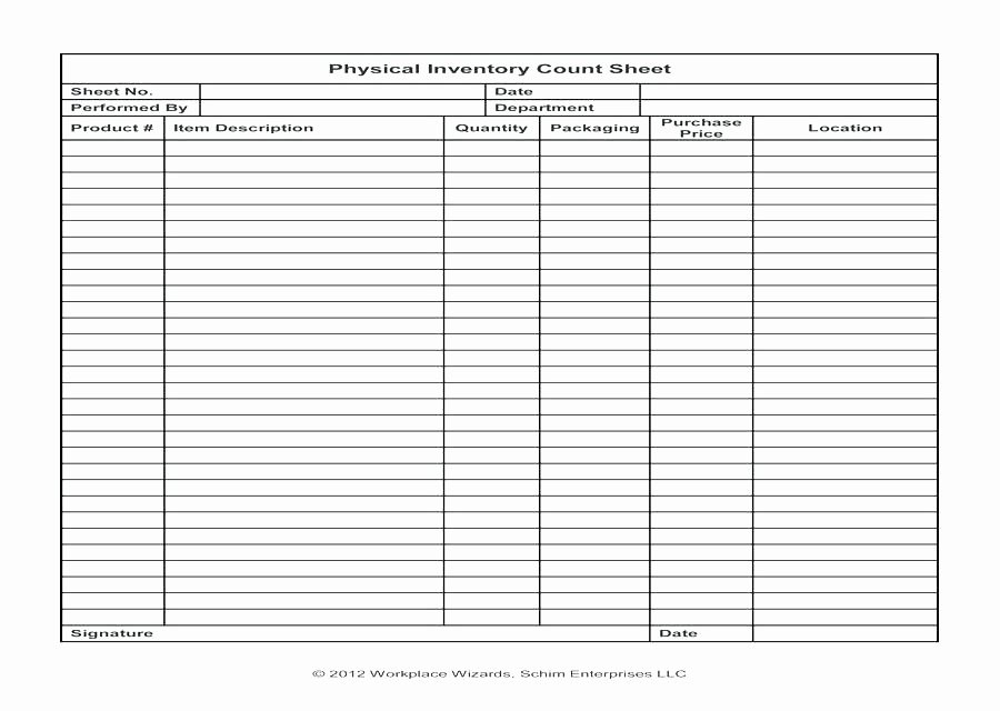 Inventory Cycle Count Excel Template Best Of Physical Counting Inventory Count Template Control with