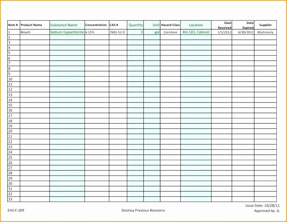 weekly inventory sheet count template physical format report