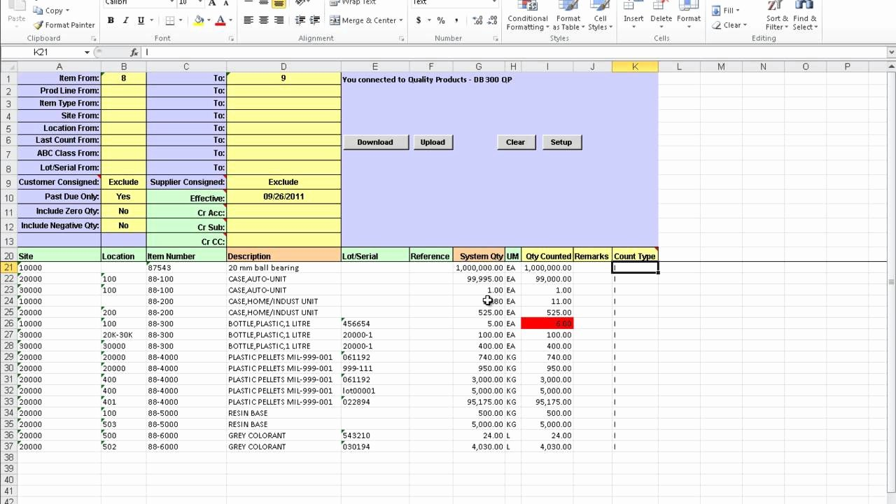 Inventory Cycle Count Excel Template Inspirational Download Cycle Count Program Excel Free Frletitbit