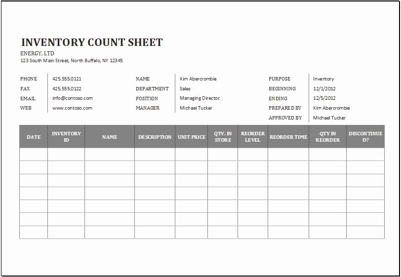 Inventory Cycle Count Excel Template Lovely Cycle Count Excel Template Zoro Blaszczak
