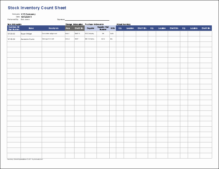 Inventory Cycle Count Excel Template Lovely Download Cycle Count Program Excel Free Frletitbit