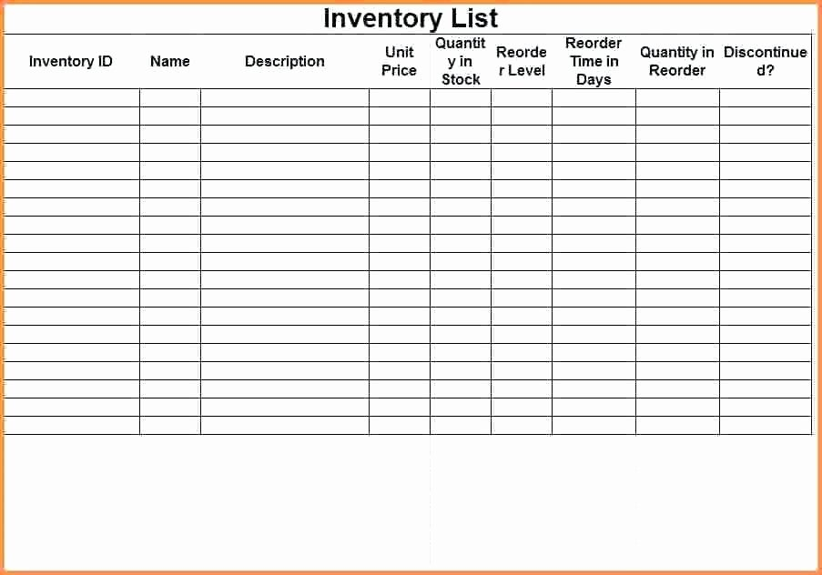 Inventory Cycle Count Excel Template Unique Weekly Inventory Sheet Count Template Physical format