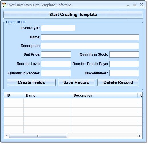 Inventory List Template Excel Lovely Page 12 Of Inventory & Barcoding software Business