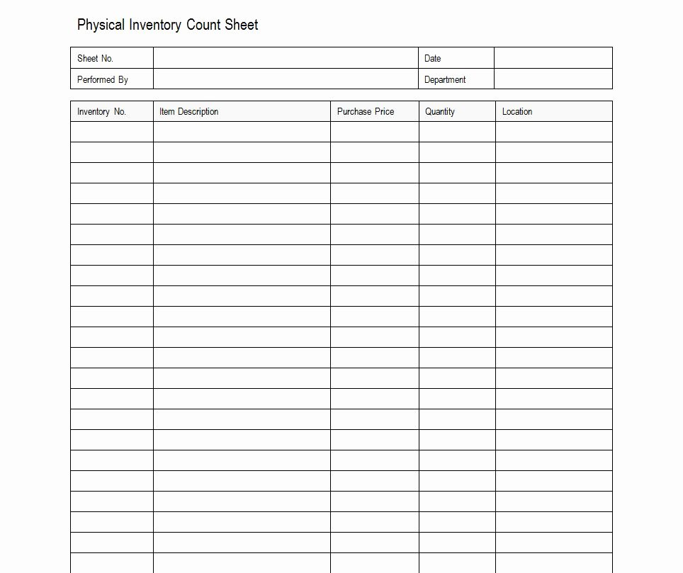 Inventory Sheet Template Excel Awesome Sample Inventory Sheet