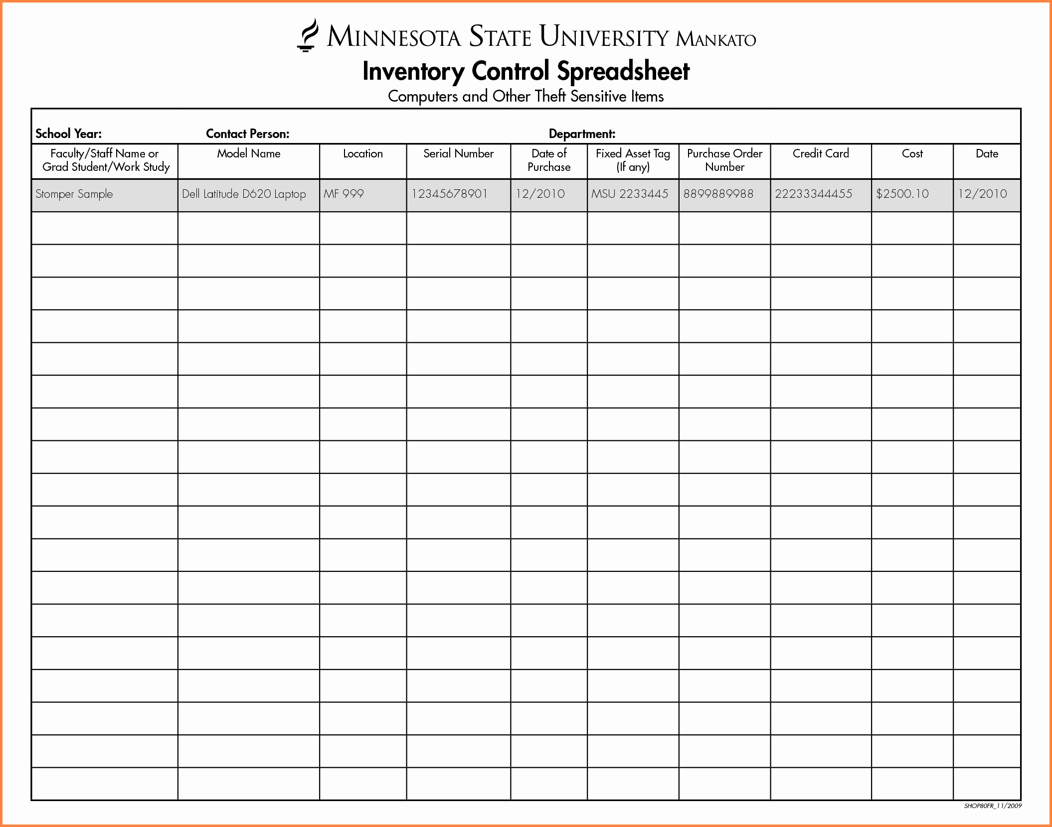 Inventory Sheet Template Excel Best Of 5 Inventory Control Spreadsheet