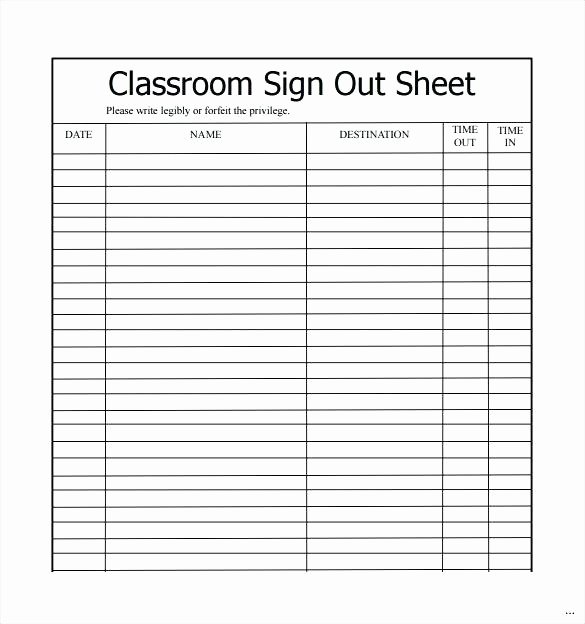 Inventory Sign Out Sheet Template Inspirational Inventory Sign Out Sheet Template Excel – Verbe