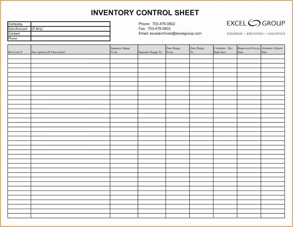 Inventory Worksheet Template Excel Best Of Inventory Spreadsheet Example Inventory Tracking
