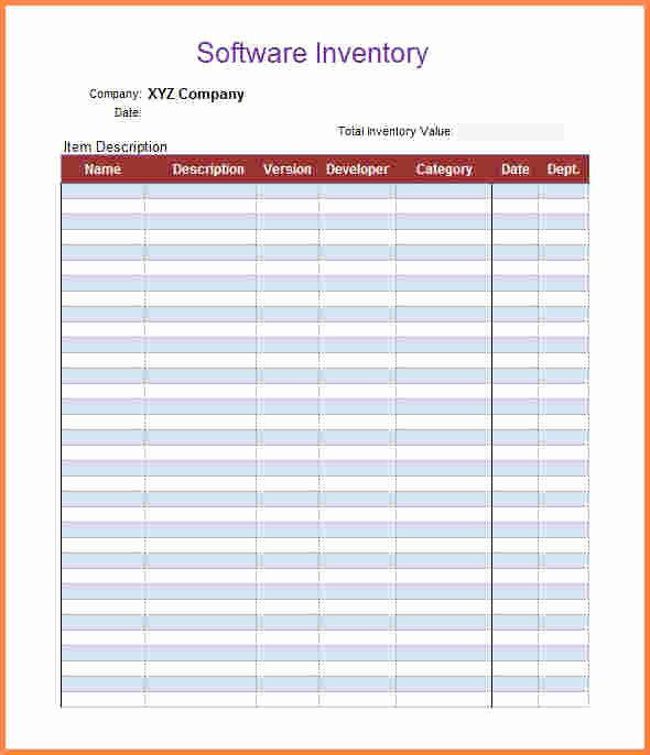 Inventory Worksheet Template Excel Fresh 5 Inventory Spreadsheet Templates