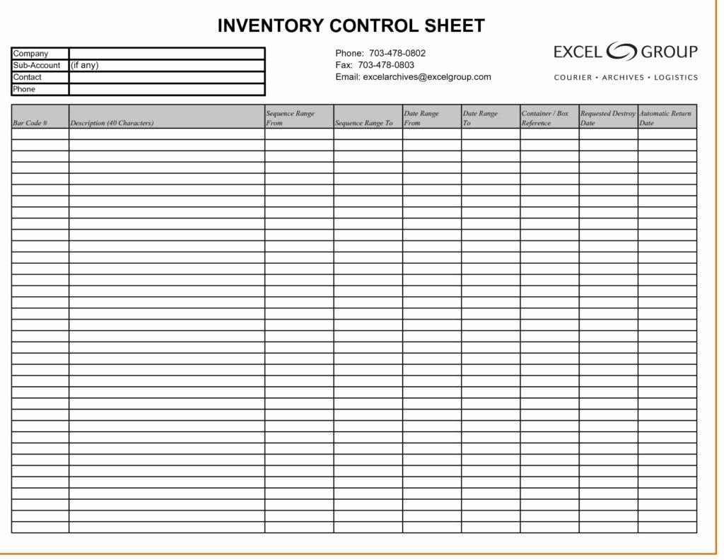 Inventory Worksheet Template Excel Fresh Inventory Spreadsheet Template Inventory Spreadsheet