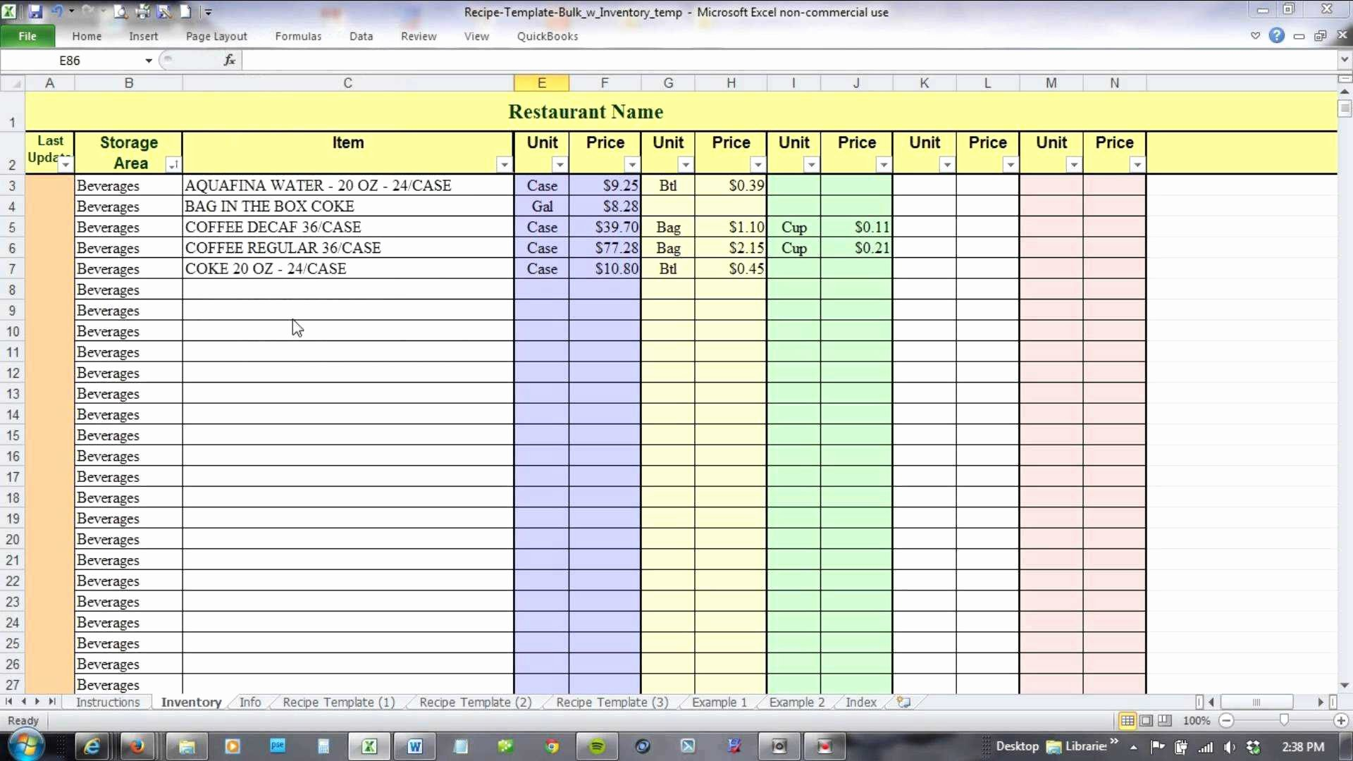 Inventory Worksheet Template Excel Inspirational Excel Template Inventory Tracking Download Inventory