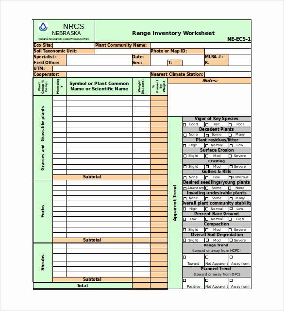 Inventory Worksheet Template Excel New Excel Inventory Template 21 Free Excel Pdf Documents