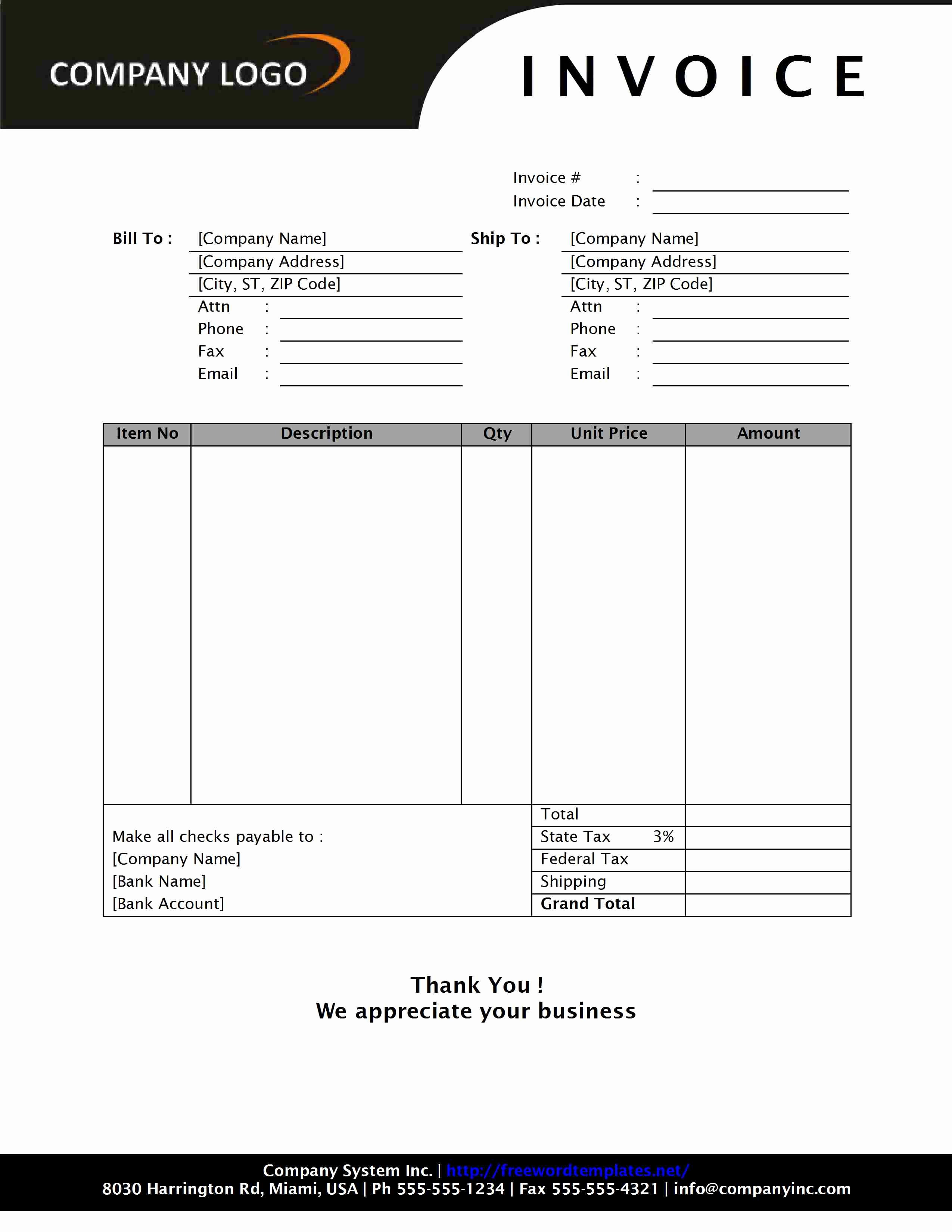 Invoice and Receipt Template Awesome Cash Invoice Template