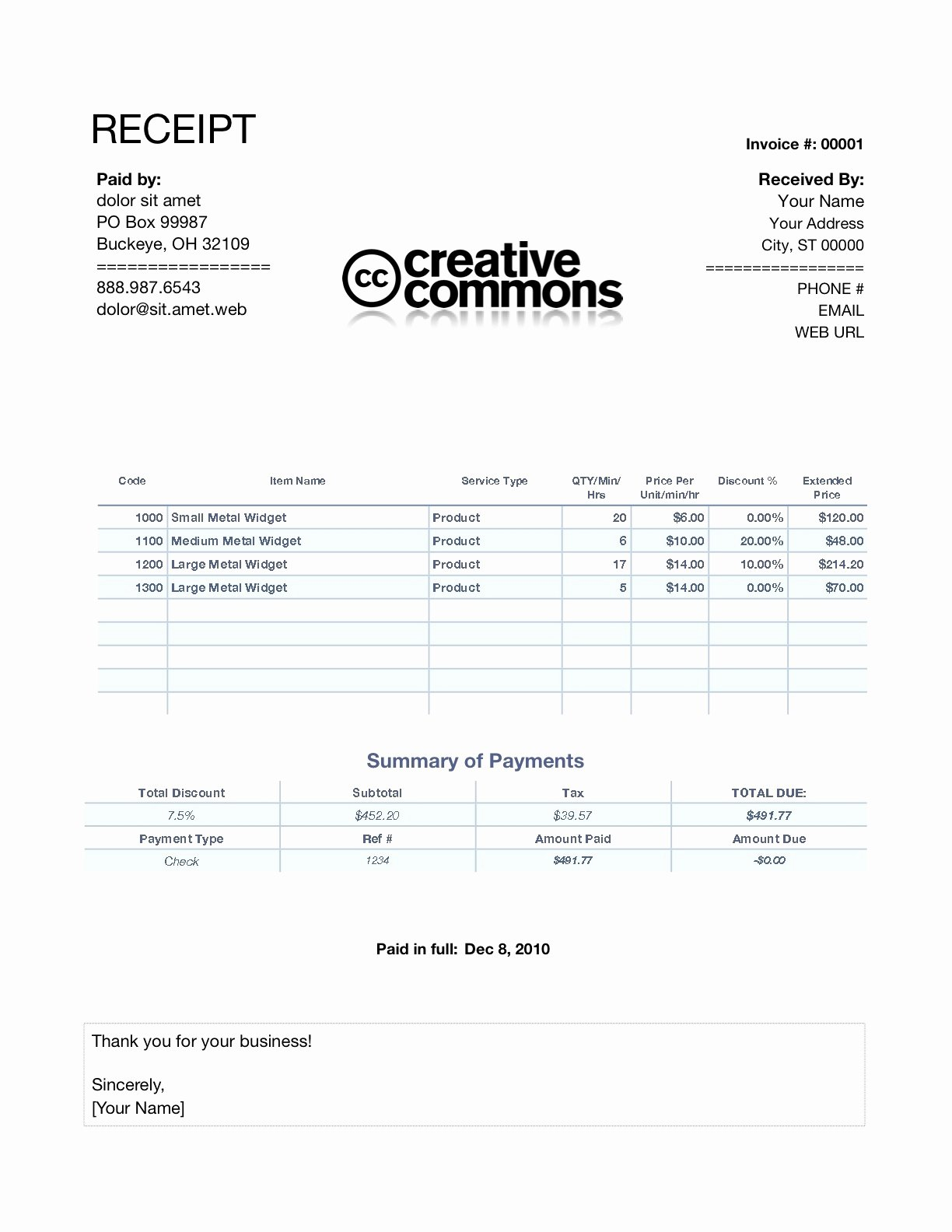 Invoice and Receipt Template Inspirational Receipt Invoice Invoice Template Ideas