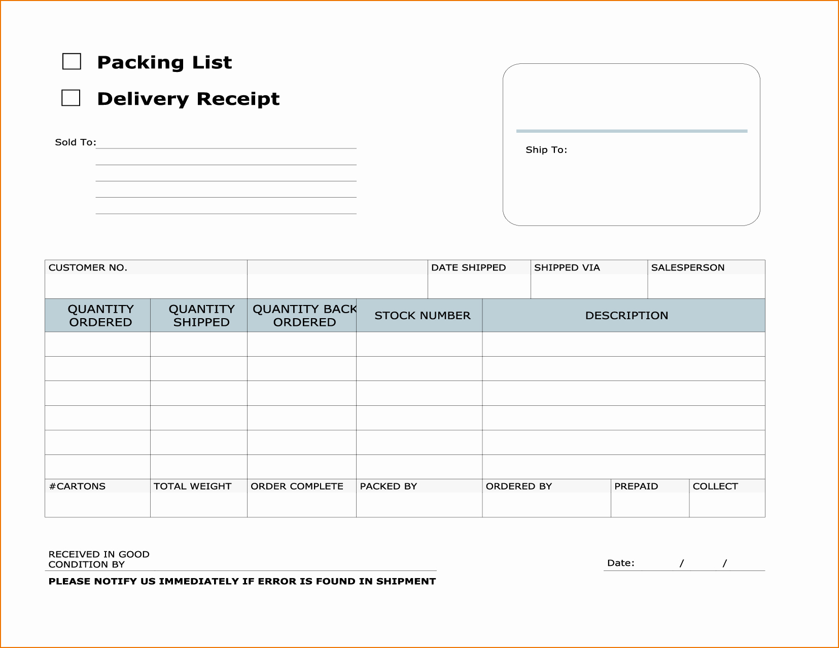Invoice and Receipt Template New Courier Invoice Template and Delivery Invoice Template